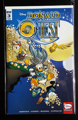 Donald Quest # 3 Idw Comics Bagged/boarded