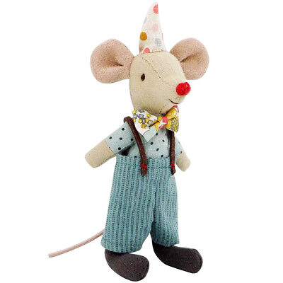 Maileg * Maus * Clown * Zirkus * Manege * Mouse * red nose *
