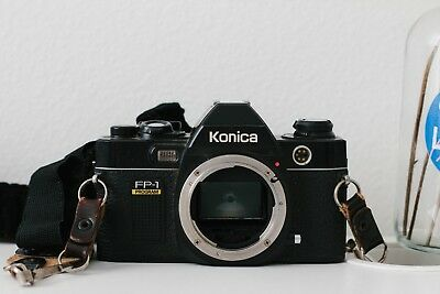 [Mint] Konica FP-1 with Hexanon AR 40mm f/1.8 lens