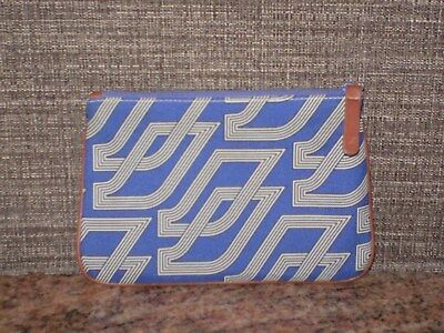 AIR FRANCE Amenity Blue Bag Toiletry Cosmetic/Make-up Travel Pouch