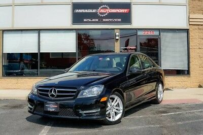 Mercedes-Benz C-Class  low mile c300 free shipping warranty awd 4matic sport finance