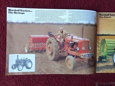Nuffield / Marshall  Tractor Brochure