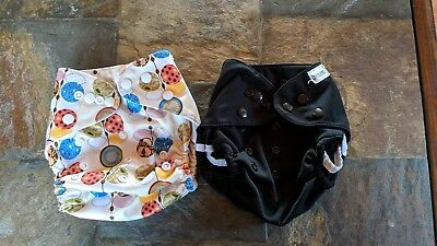 Small Cloth Lot,  Love Babies (1 Pocket & 1 Cover)