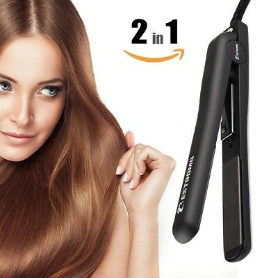 FREE SHIPPING BESTBOMG Professional Ionic Flat Iron Worldwide Dual Voltage Hair