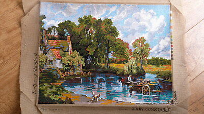 Complete handmade woolen tapestry picture of John Constable picture