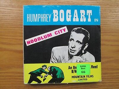 Mountain Super 8 Film Humphrey Bogart - HOODLUM CITY -BOXED (BB1)