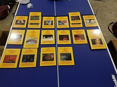 The Kodak Library of Creative Photography 1983 complete 16 book collection.