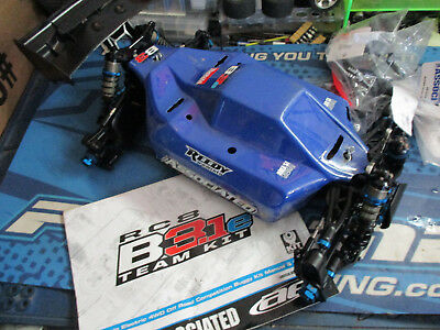 Team Associated RC8B3.1e 1/8 buggy chassis, rc8b, rc8be