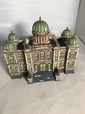 1997 DEPARTMENT Dept 56 Village THE CAPITOL Christmas In The City Series EUC