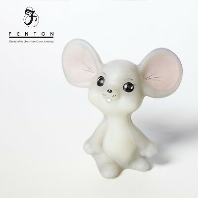 Grey Fenton Mouse, Hand Painted & signed S(Sandy). Stephens