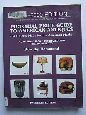 Pictorial Price Guide To American Antiques 1999-2000 Edition 5,000+ Illustration
