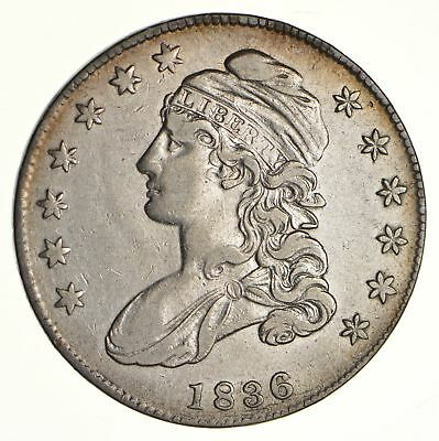 1836 Capped Bust Half Dollar - Circulated *6129