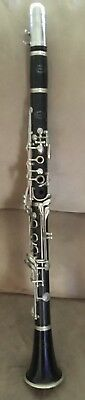 Vintage clarinet Evette Schaeffer by buffet serial number 30623 E with case