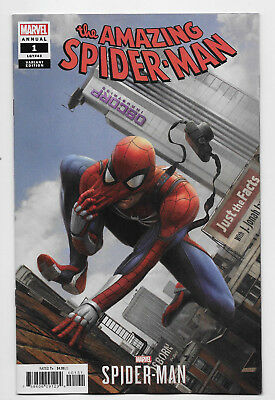 Amazing Spider-Man Annual #1 Marvel Comic 2018 Chan PS4 Video Game Variant Cover
