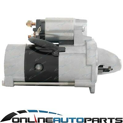 Bosch Starter Motor suits Mazda E2500 E 4cyl WL 2.5L 1997 to 2002