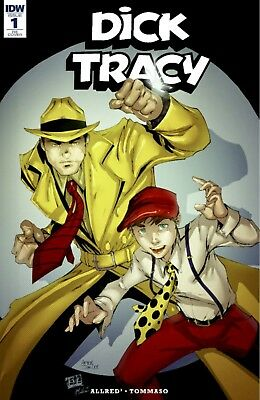 Dick Tracy Dead Or Alive #1 Ryan Kincaid Unknown Exclusive Variant Pre Sale 9/19