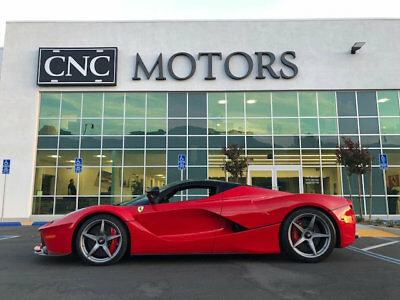 Ferrari LaFerrari 2dr Coupe 2014 Ferrari LaFerrari in Rosso Corsa Only 62 Miles CNC Motors Upland California