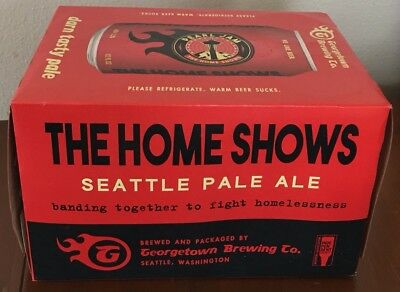 Pearl Jam The Home Shows Beer Can Collector Box 2018 Seattle Georgetown