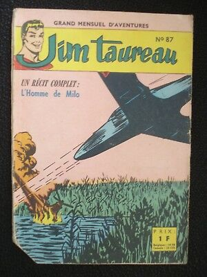 Jim Taureau N°87 Sagedition 1965