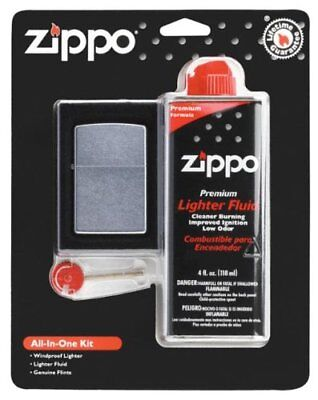 New Zippo Lighters 19305 ORMD All-In-One Kit Cigarette/Cigar Lighter