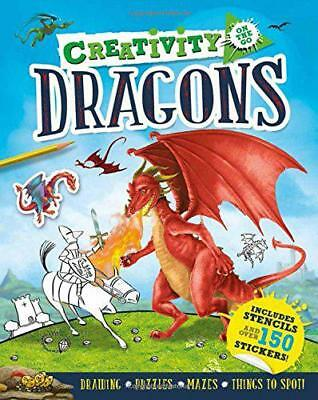 Creativity on the Go: Dragons by Pinnington, Andrea | Paperback Book | 978178312