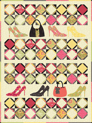 Heels Patchwork Quilt Kit - Pattern by Coach House Designs