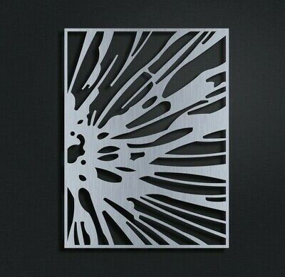 Metal Wall Art Abstract Modern Home Decor Contemporary Sculpture By Master Cut