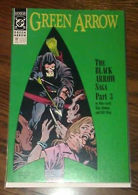 Green Arrow Vol 2 #37 VF/NM Mike Grell DC Comics