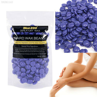 0818 Depilatory Hot Hard Wax Beans Pellet Waxing Body Armpit Hair Removal 100g