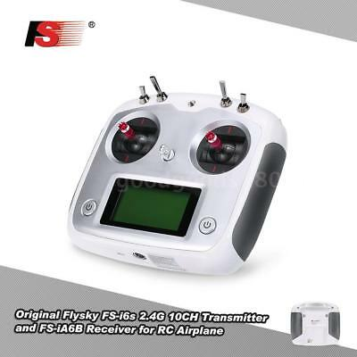 Flysky FS-I6s 2.4G 10CH Trasmettitore Ricevitore Per RC Airplane Helicopter I3I7