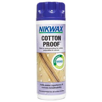 Nikwax Cotton Proofer 300Ml Fabric Washing Treatment One Colour
