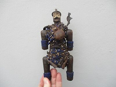 An Antique African Tribal Witch Doctor Figure 19th C?