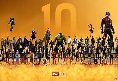 Marvel Characters - Comic Book Wall Art Large Poster / Canvas Picture Prints