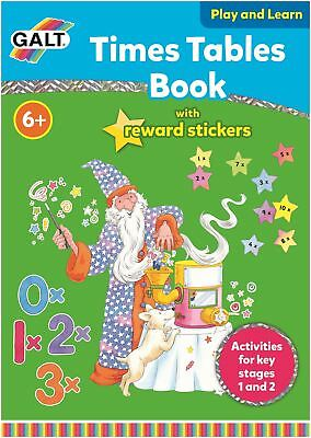 Galt TIMES TABLES BOOK Children Educational Toys And Activities BN