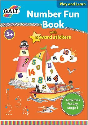 Galt NUMBER FUN BOOK Children Educational Toys And Activities BN