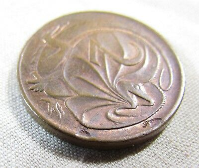1979 2 Cent Error. Two planchet flaws on rev. Deceased estate. Never traded