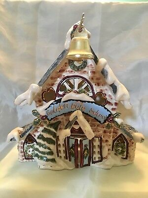 Blue Sky Clayworks  ~The Golden Rule School~.  Numbered