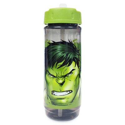 Official Marvel Hulk Green Cascade Plastic Drinking Sports Water Bottle