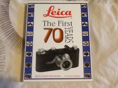 Leica: The First 70 Years Hove Collectors Books Limited Edition signed 122of150