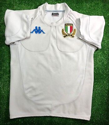 682cef922b0 Italy National Rugby 2007/2009 Away Jersey Shirt Maglia Kappa Mens Size L