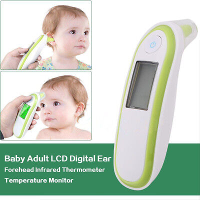 New Ear Thermometer Digital Adult Baby IR In-Ear Infra Red LCD Temperature UK