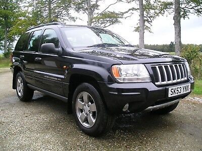Jeep Grand Cherokee Limited 2.7 CRD -BN MOT - IMMACULATE - LO MILES - NO RESERVE