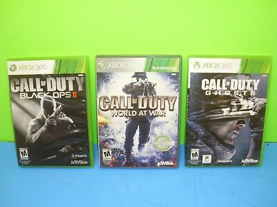 Call of Duty 3 Game Collection-Black Ops II  XBOX 360 Free Shipping
