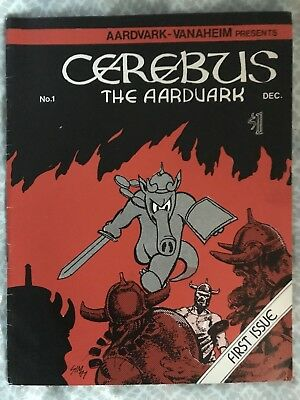 Cerebus the Aardvark #1 Autographed (not counterfeit version)