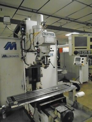 Milltronics MB18 3-Axis CNC Vertical Bed Mill Milling Machine