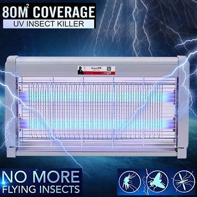Insect Killer Mosquito Pest Fly Bug Zapper Catcher Trap Electric UV-A GH&