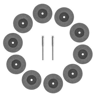 10Pcs 30mm Mini Diamond Cutting Wheel Saw Blades Discs Cut Off Set Rotary Tool