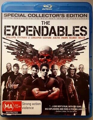 The Expendables - Special Collector's Edition (BLU-RAY) GREAT condition (Reg. B)