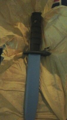 New USMC OKC3T Training Bayonet/ Ontario Knige CO , USA