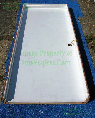 """Prehung Interior Doors ☆ Wood ☆ Painted ☆ 32"""" by 80"""" ☆ White ☆ Used ☆ Great Deal"""